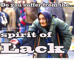 Spirit of lack
