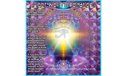 Light World Meditation